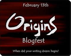 Origins Blogfest