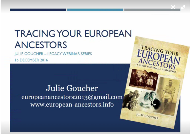 European Ancestors