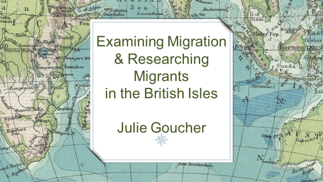 Examining Migration & Researching Migrants in the British Isles