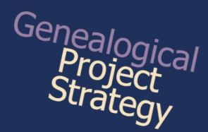 genealogical project strategy