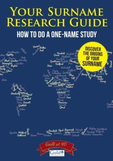 Surname Research Guide FTM Cover