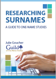 Cover for Surname booklet