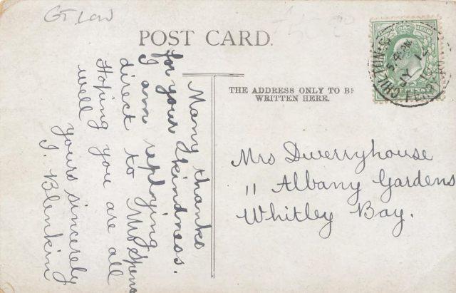 Dwerryhouse Postcard